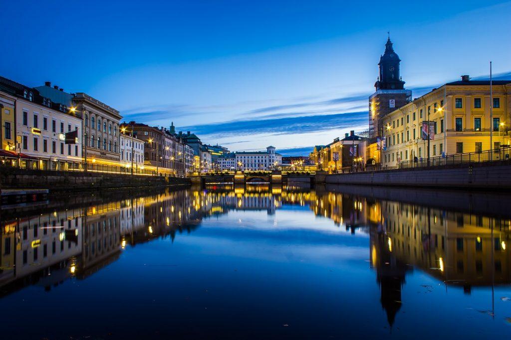 Göteborg, ville où a travaillé Catharina Dember, fondatrice de la société Idrolia