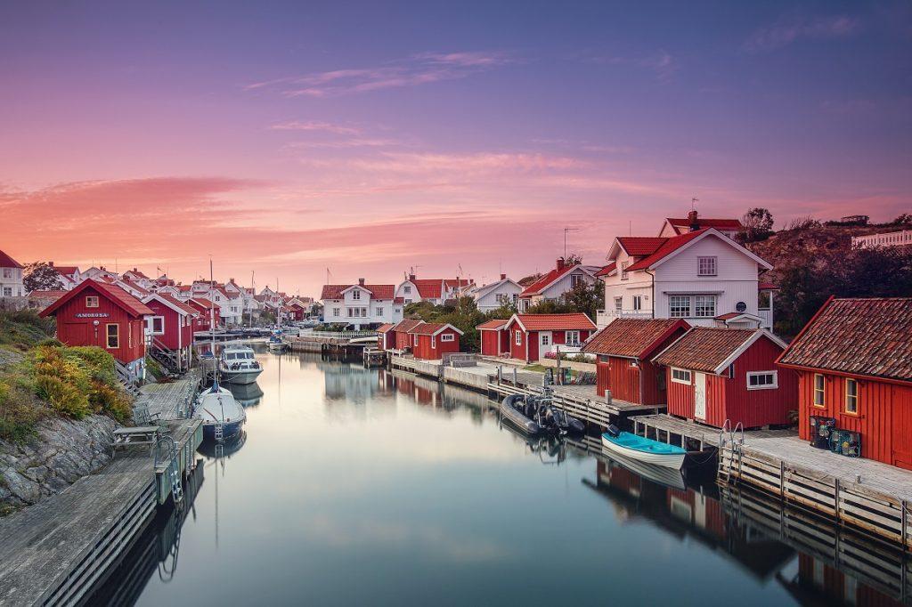 Grundsund, village de Suède